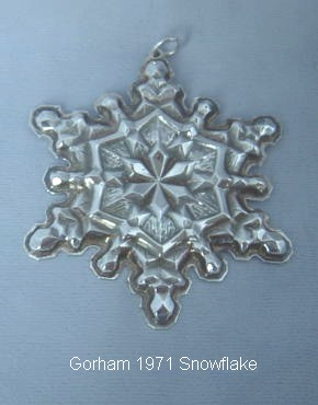 Gorham Annual Ornament - Crystallia Inc.