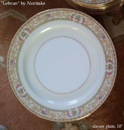 Lebrun by Noritake China> 		</TD> 	</TR> 	<TR> 		<TD WIDTH=