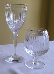 Hanover gold by Waterford crystal