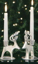 Reindeer Candlesticks by Towle