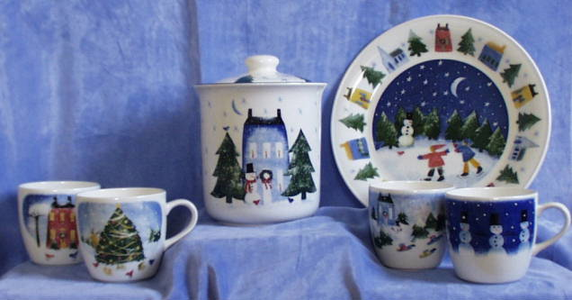 discontinued christmas patterns include winter wonderland
